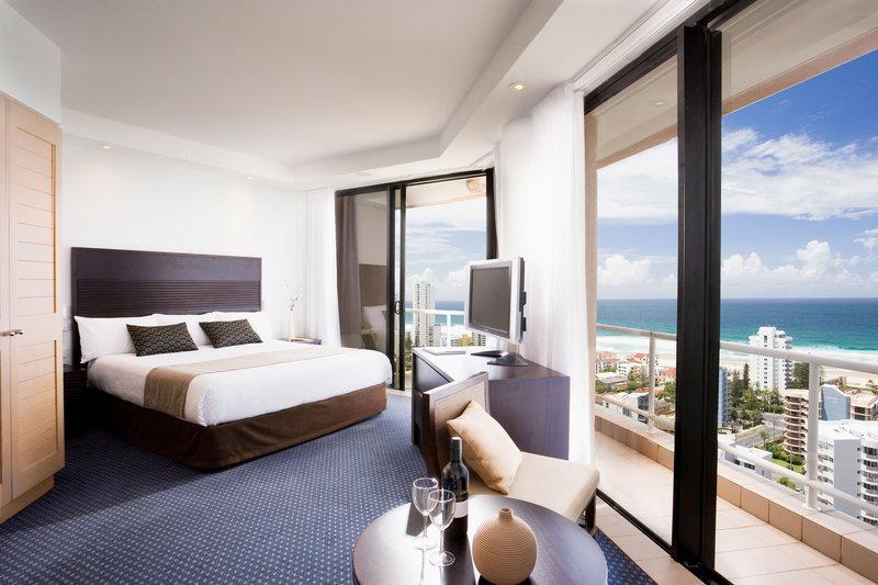 Crowne Plaza Hotel Crowne Plaza Surfers Paradise Вид в номере