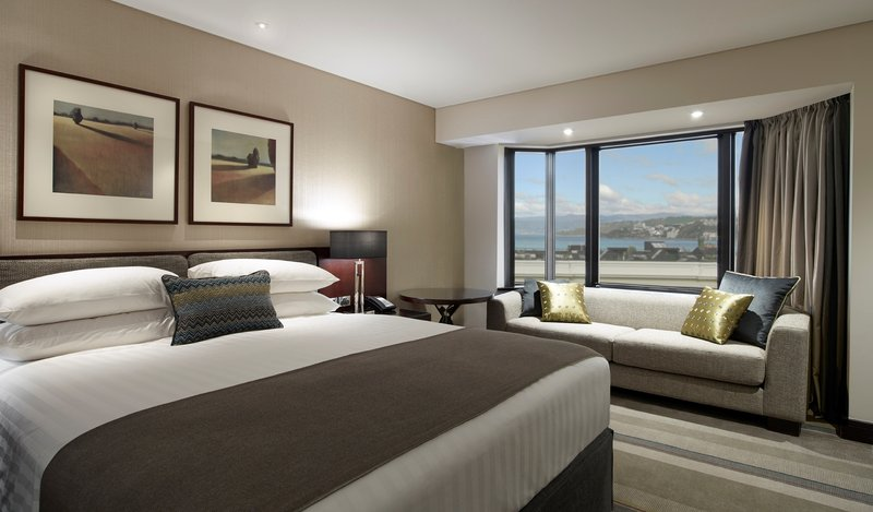 InterContinental Wellington Widok pokoju