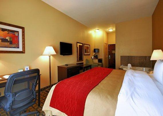 Comfort Inn Marion Vista della camera