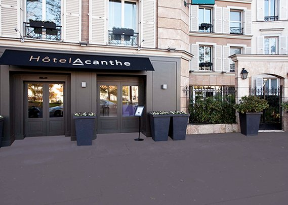 Quality Hotel Acanthe Set udefra