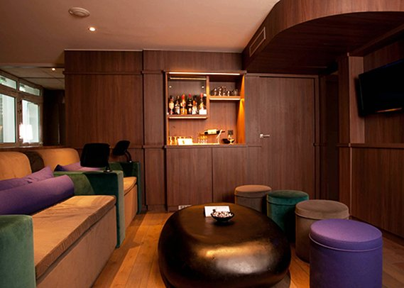 Quality Hotel Acanthe Bar/Lounge