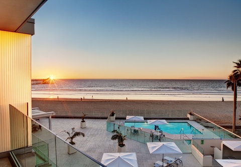 Pier South Resort, Autograph Collection - Oceanfront Suite - Private Balcony View