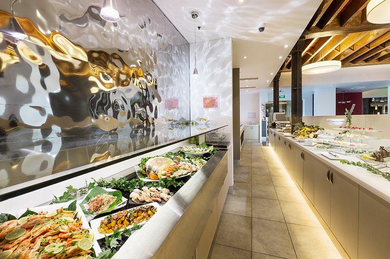 Holiday Inn Darling Harbour Ресторанно-буфетное обслуживание