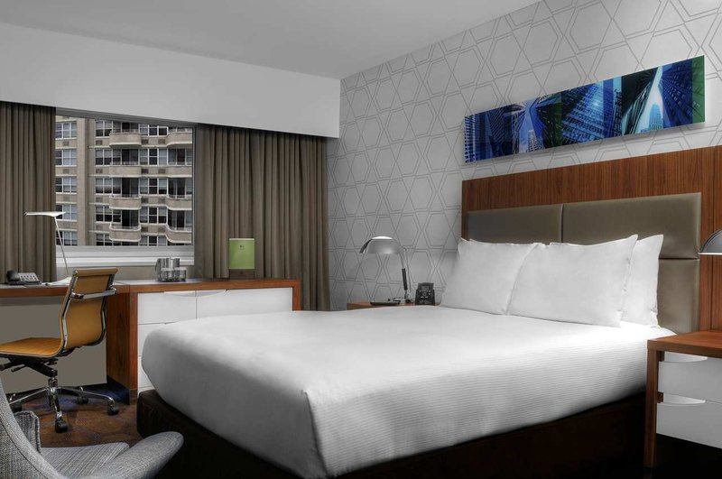 Doubletree Metropolitan Hotel New York City Huonenäkymä