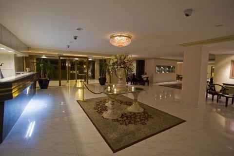 Amman International Hotel - Lobby view