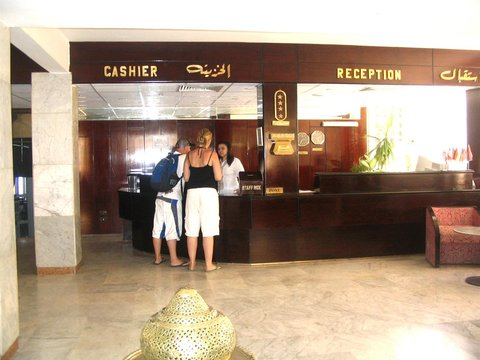 Pyramisa Isis Island Aswan Resort - Lobby view