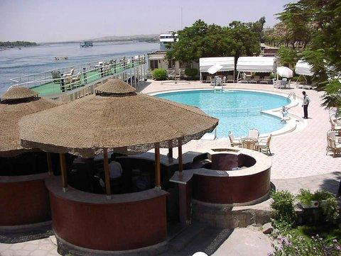 Pyramisa Isis Island Aswan Resort - Pool View