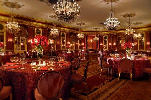 ذا بالمر هاوس هيلتون - Red Lacquer Room