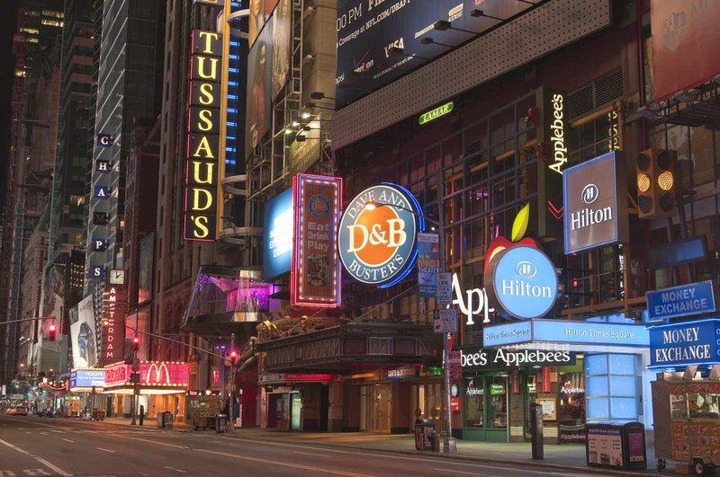 Hilton Times Square Exterior view