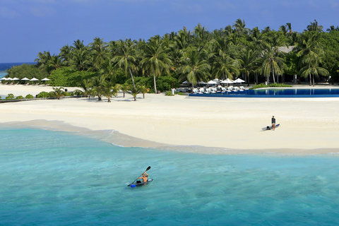 Velassaru Maldives - Velassaru Aerial View