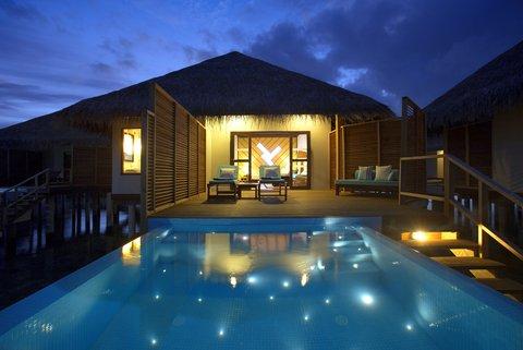 Velassaru Maldives - Lagoon Water Bungalow with Pool