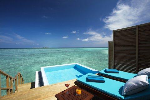 Velassaru Maldives - Ocean Water Bungalow with Pool