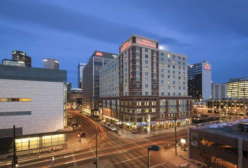 Hilton Garden Inn Denver Downtown Außenansicht