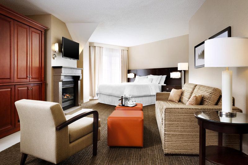 Le Westin Resort & Spa, Tremblant, Quebec Zimmeransicht