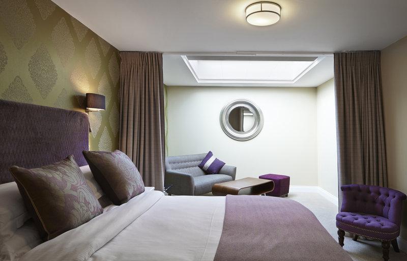 Hawkwell House Hotel Odanın görünümü
