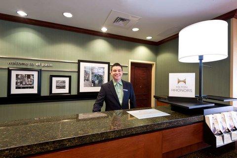 Hampton Inn - Suites El Paso West - Reception Desk with Employee