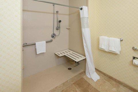 Hampton Inn - Suites El Paso West - Roll in Shower