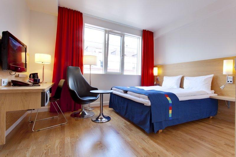 Park Inn by Radisson Oslo Вид в номере