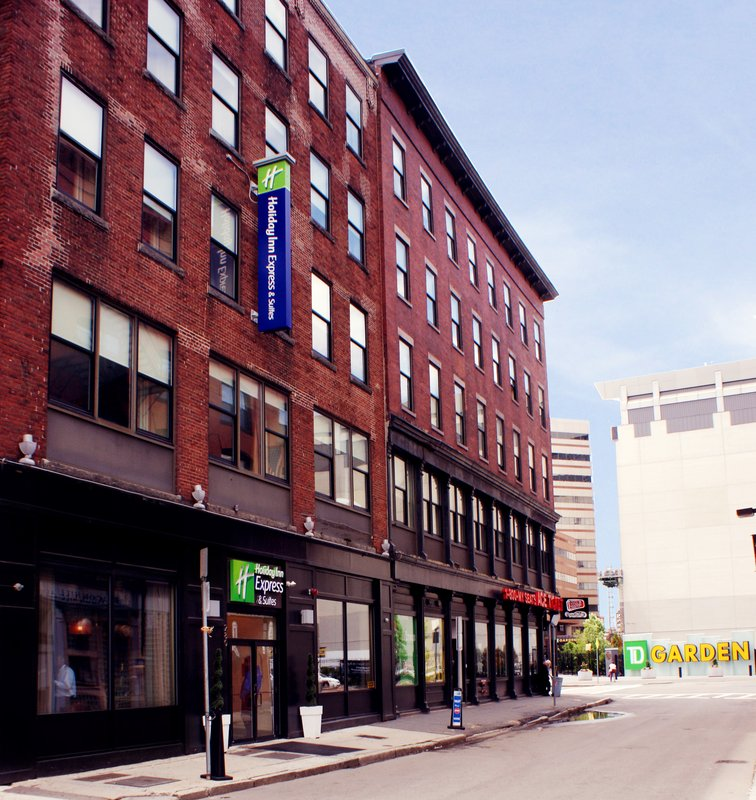 Holiday Inn Express Hotel & Suites Boston - Downtown Set udefra