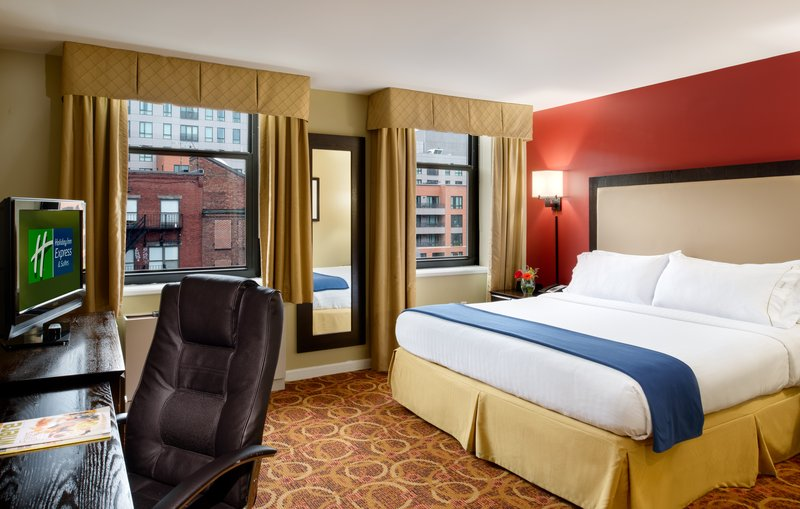 Holiday Inn Express Hotel & Suites Boston - Downtown 客房视图