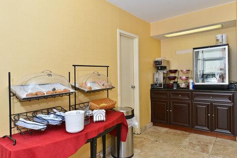 Americas Best Value Inn Downtown Midtown - Breakfast