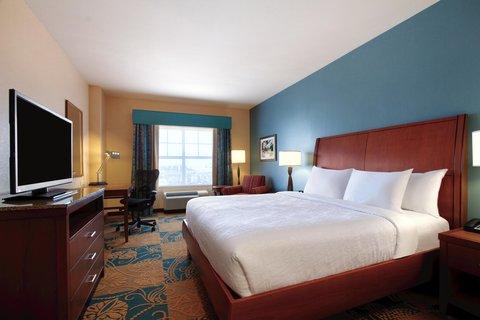 Hilton Garden Inn Oklahoma City Bricktown - King Room Bed
