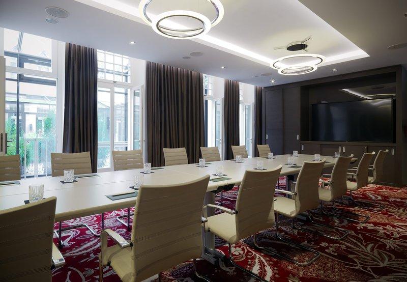Hotel Am Steinplatz, Autograph Collection® Berlin Meeting Room – Boardroom Setup