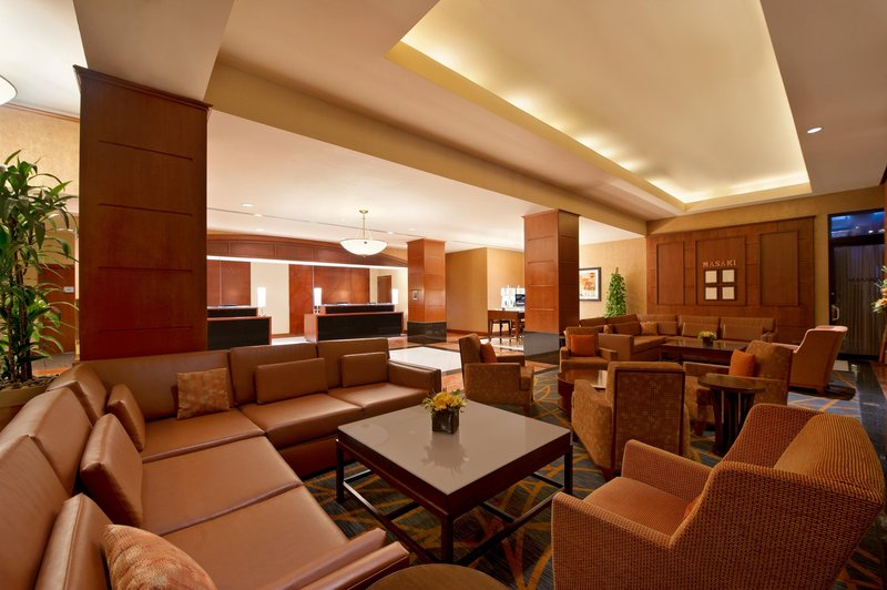 Hilton Suites Chicago/Magnificent Mile Előcsarnok
