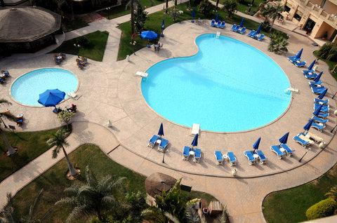Grand Pyramids Hotel - Pool view