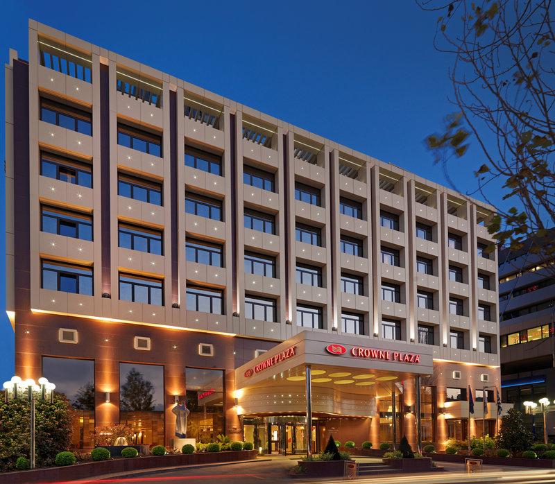 Crowne Plaza Athens City Centre Hotel Kilátás a szabadba
