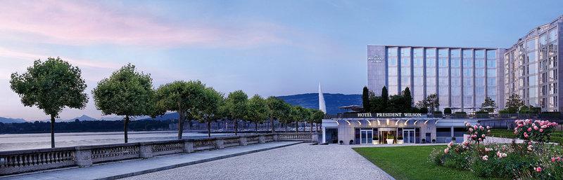 Hotel President Wilson, Geneva Außenansicht
