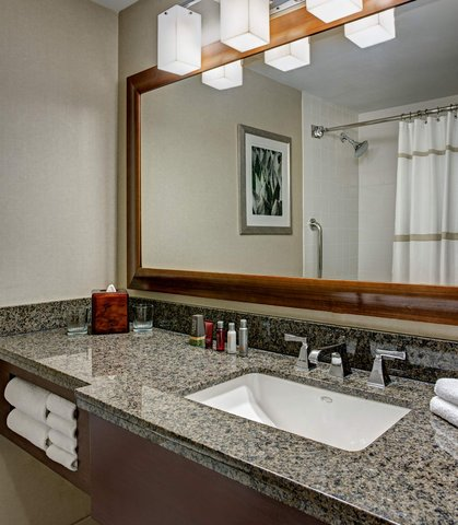 Marriott Dfw Airport North Hotel - One-Bedroom Suite Bathroom
