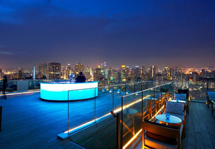 Marriott Executive Apartments Bangkok, Sukhumvit Thonglor Bar/Lounge