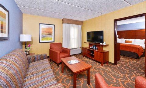 BEST WESTERN PLUS Fresno Airport Hotel - Suite