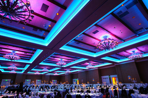 Hotel Albuquerque at Old Town - Hotel Albuquerque ballroom LED lighting