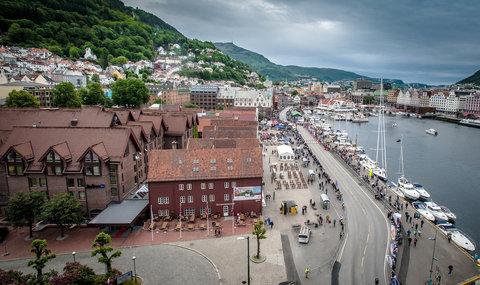 Radisson Blu Royal Hotel, Bergen - Bryggen Uterestaurant