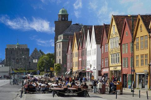 Radisson Blu Royal Hotel, Bergen - Bryggen Ute