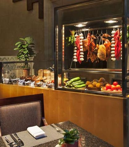 Courtyard by Marriott Pudong Shanghai Gastronomie