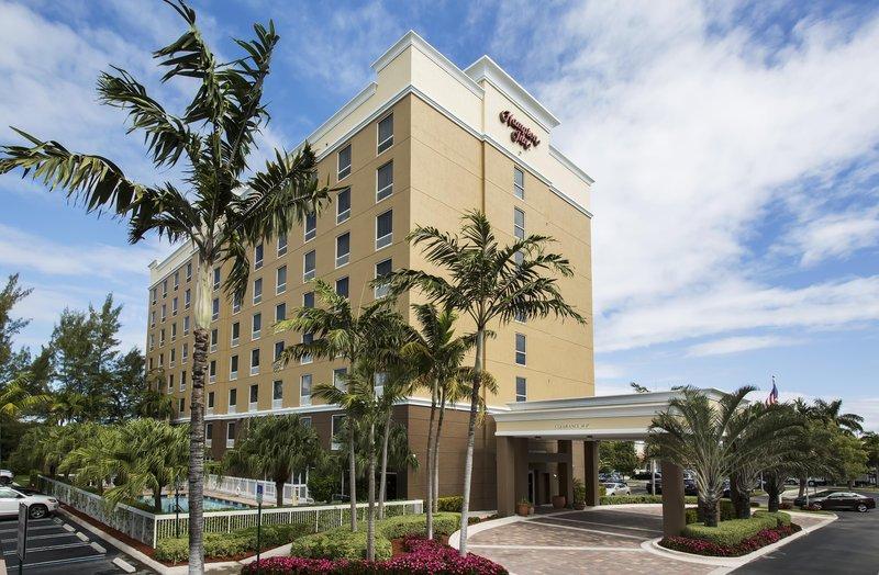 Hampton Inn Hallandale Beach/Aventura, FL Außenansicht