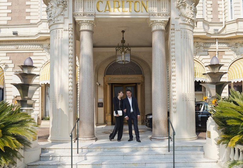 InterContinental Carlton Cannes Außenansicht