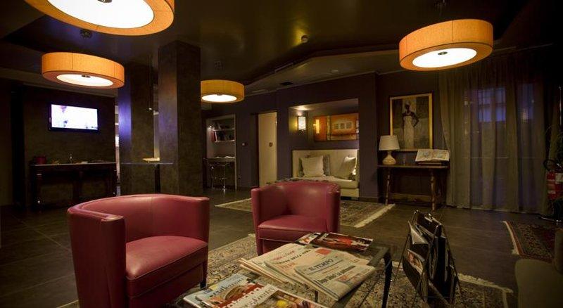 Comfort Hotel Roma Airport Fiumicino Lobby