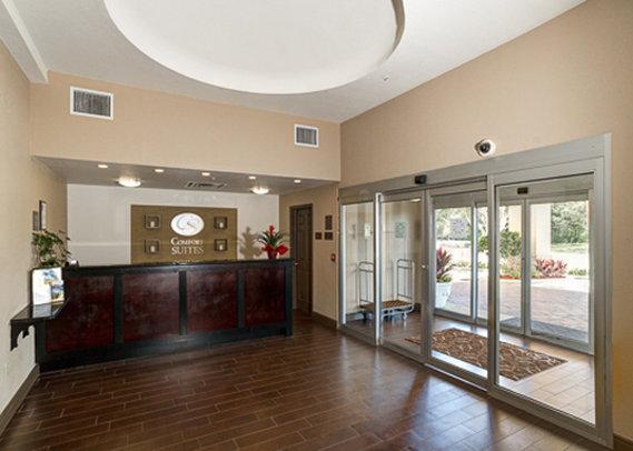 Comfort Suites Clearwater Előcsarnok