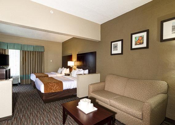 Comfort Suites Clearwater Szobakilátás