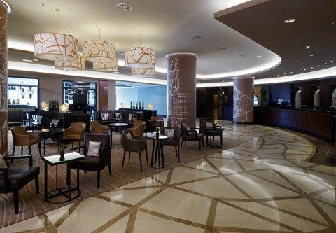 Frankfurt Marriott Hotel - Lobby