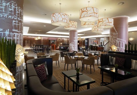 Frankfurt Marriott Hotel - Lobby Seating Area