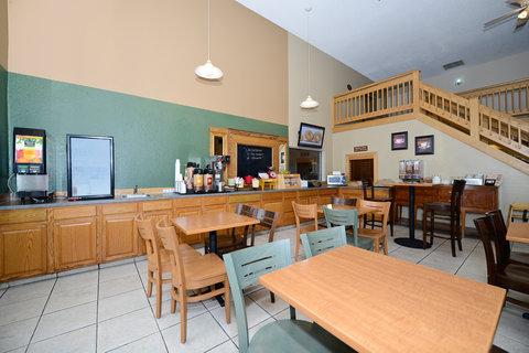 Americas Best Value Inn And Suites - Breakfast Sitting Area