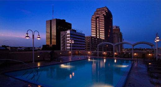 Wyndham San Antonio Riverwalk Hotel Vista della piscina