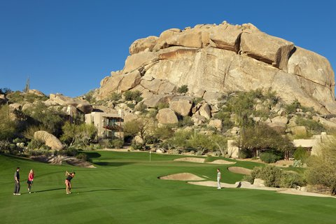 Boulders Resort & Golden Door Spa - Golf 5th Green