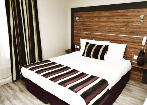 Comfort Hotel Lamarck Zimmeransicht