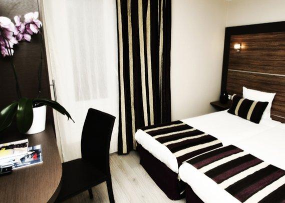 Comfort Hotel Lamarck Huonenäkymä